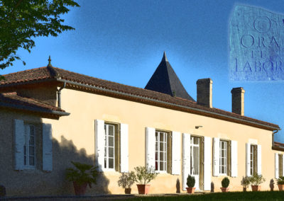 Chateau la Bertrande Ora et Labora